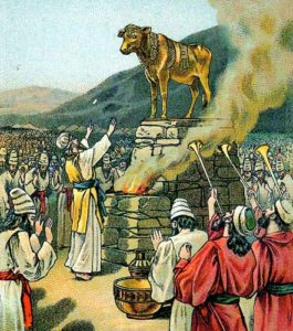 ki tisa, golden calf